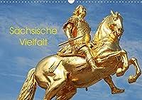 Saechsische Vielfalt (Wandkalender 2022 DIN A3 quer): Sachsen ist eine Reise wert (Monatskalender, 14 Seiten )