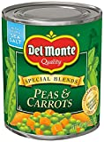 Del Monte Canned Peas and Carrots, 8.5 Ounce (Pack of 12)