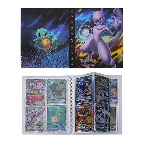 Pokemon Cartas Álbum, Comercio Tarjeta Álbum, Pokémon Titular de Tarjetas, Protección para Pokemon Trading Trainer GX EX (Mewtwo)