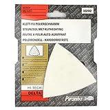 Piranha x32442Hi tech Delta triangolo Quick Fit Felt Polishing Pad Viene fornito in imballaggio originale Piranha Dimensioni: 90mm x 90mm x 90mm Quantità: 1 Adatto per lucidare tutte le superfici