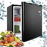 Compact Refrigerator, TECCPO 1.6 Cu.Ft. Small Fridge with Freezer, Energy Star, Reversible Door, Adjustable...