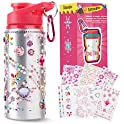 Beewarm Gift for Girls, Decorate & Personalize Your Own Water Bottles
