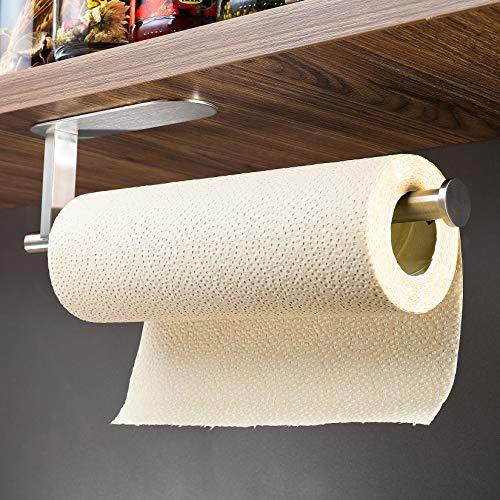 Carta Cucina Porta Rotolo Punch-Liberi I Vasi Towel Rack Installato sulla Mensola della Cremagliera Armadio Cucina Rotolo
