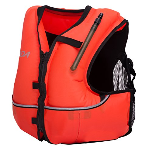 Phantom Aquatics Deluxe Snorkel Vest, Orange