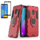 Casebuff Samsung Galaxy A8 2018 Case and Screen Protector