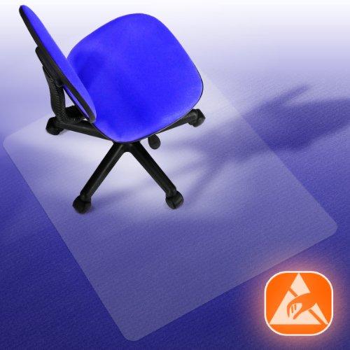 Performa® Antistatik Bodenschutzmatte für Teppiche und Teppichböden (116x150 cm)