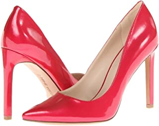 NINE WEST Womens Tatiana Fabric Pointed Toe Classic Pumps, Red, Size 10.5