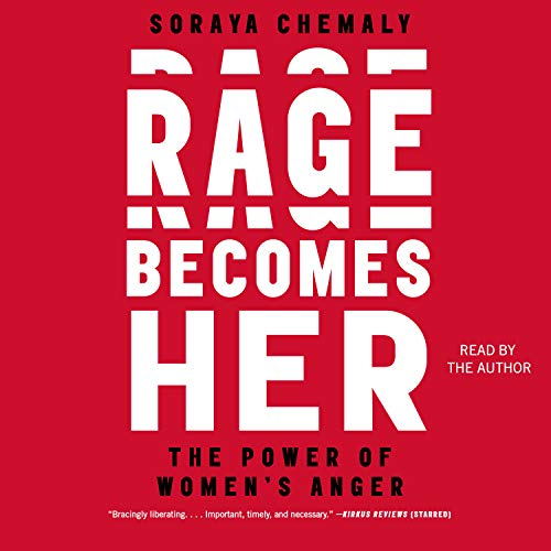 Rage Becomes Her audiobook cover art