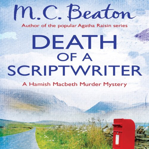 Death of a Scriptwriter audiobook cover art