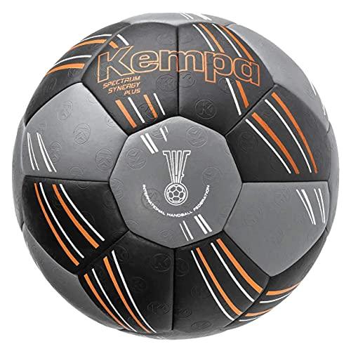 Kempa Unisex– Erwachsene Spectrum Synergy Plus Handball, schwarz/Anthra, 3