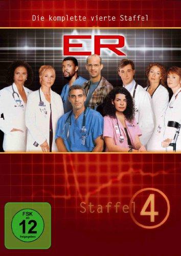 ER - Emergency Room, Staffel 04 [Alemania] [DVD]