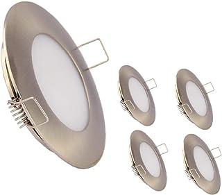12V LED RV Boat Ceiling Lights Recessed Dome Light Cabinet Lights LED Interior Lighting for Motorhome Sailboat Yacht 3.5W ...