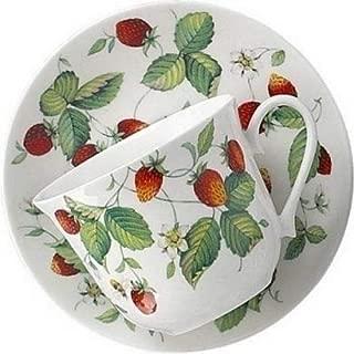 Roy Kirkham Alpine Strawberry Teacup and Saucer