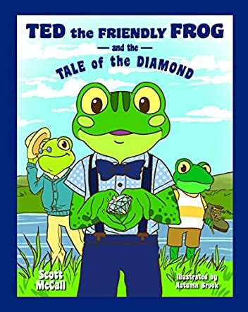 Ted the Friendly Frog and the Tale of the Diamond