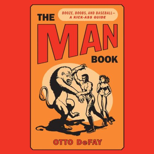 The Man Book audiobook cover art