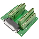 BeMatik - Adaptador de conexión Serie DB44-hembra a Bloque de terminales de...