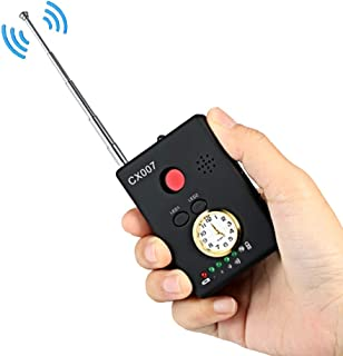 LLCOFFGA Detector Anti-EspíA CáMara Bug RF Detector De SeñAl InaláMbrica CáMara Oculta Rastreador GPS