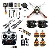 FEICHAO DIY Drone F450 Mini RC Hexacoptère Désassembler des Kits 2.4G Mise à Niveau FPV avec Radiolink Mini PIX M8N GPS Modèle Altitude Hold