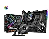 MSI Prestige X570 Creation Motherboard (AMD AM4, DDR4, PCIe 4.0, SATA 6Gb/s, M.2, USB 3.2, AX Wi-Fi 6, 10G Super LAN, Extended-ATX)
