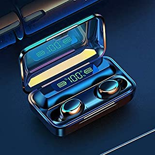 Auriculares inalámbricos F9 con control táctil – LAMINU, originales F9-5 Bluetoot auriculares 5.0 TWS con huella dactilar, auriculares estéreo HiFi in-ear inalámbricos para deporte