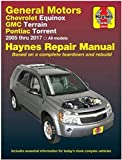 Haynes Repair Manual 38040 for GMC Terrain, Chevrolet Equinox & Pontiac Torrent 2005-2017