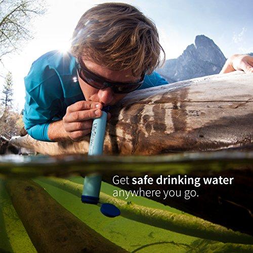 LifeStraw® Personal Wasserfilter entfernt Bakterien, Protozoen und Trübung - 3