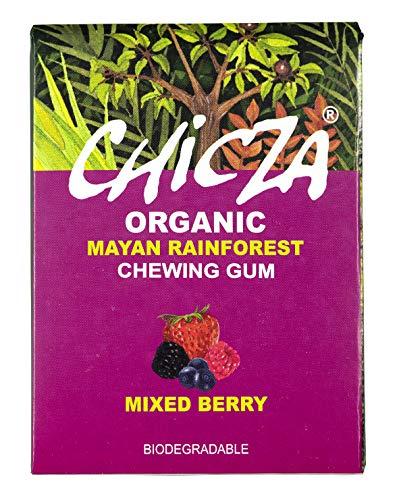 10er Pack CHICZA® Bio-Kaugummi Beeren Mix, 10x30 g