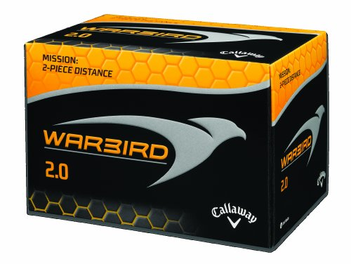 Callaway Golf Warbird 2.0 Golf Balls-Pack of 12 (White)