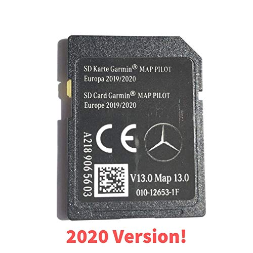 SD CARD MERCEDES GARMIN MAP PILOT STAR1 v13 Europe 2020 - A2189065603