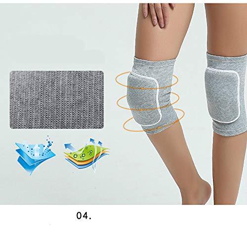 LINBUDAO 1 * paar kniebeschermers voor vrouwen dans yoga basketbal volleybal kneepad jongen Pat botbeschermer extreme sporten kniebeschermer