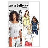 BUTTERICK 4685 BB - Patrón de Costura para Confeccionar Blu