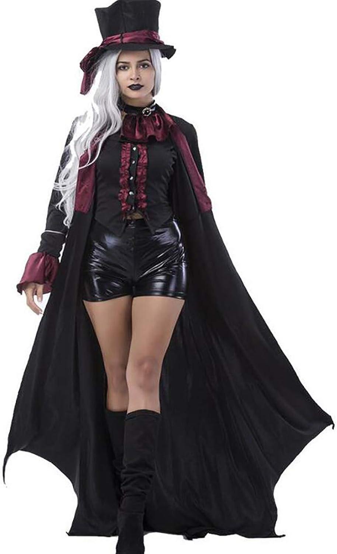 Erwachsene Vampir Kostüme Frauen Mnner Halloween Party Vampir Paar Cosplay Ausgefallenes Outfit Bekleidung Kleider,damen,L (Farbe   damen, Gre   Medium)