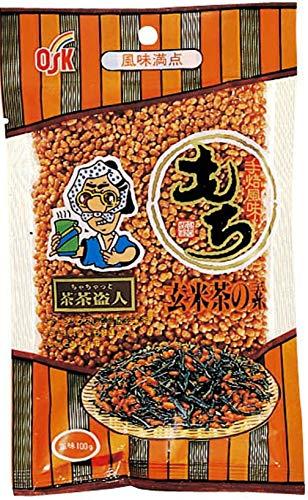 小谷穀粉 OSK OK OK もち玄米茶の素100g×4袋