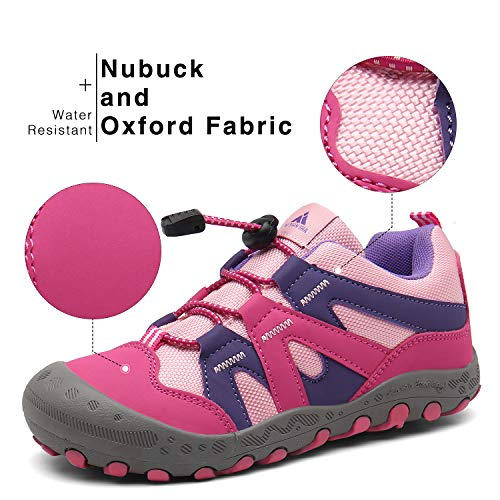 Zapatos Montaña Niña Zapatillas Senderismo Niños Bambas de Ligero para Niñas Calzado Trekking Rosa 31 EU