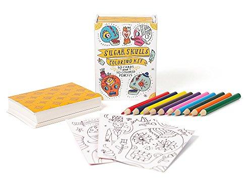 Sugar Skulls Coloring Kit (RP Minis)