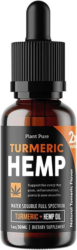 Turmeric Hemp Oil Latest item Lowest price challenge