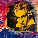 Digitaldruck / Poster Oke Walberg - Beethoven II - 40 x