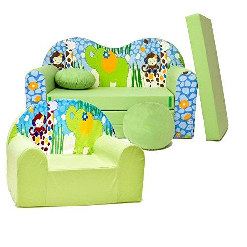 Enfants Lot de 2 enfants Canapé + fauteuil EX-Z16