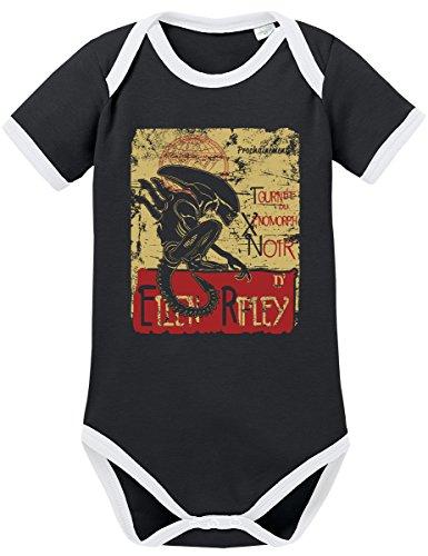 TSP Ellen Ripley Kontrast Baby Body 68 Schwarz