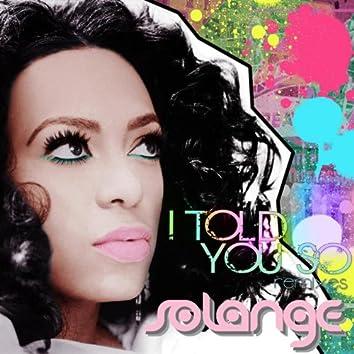 I Told You So (Remixes)