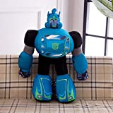 hhjxptst Juguete De Felpa, Transformers, Dynasky, Hornet, Throw Plush, Large Size, Pillow, Ultra-Soft, 2.5m Azul
