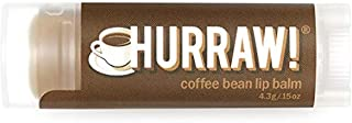 Hurraw Coffee Lip Balm 4.3g, 4.3 ml