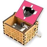 Wahom Lightspeed Rescue Pink Ranger Visor Spieluhr Handkurbel Spieluhr Antik Vintage...