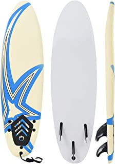 vidaXL Tabla de Surf 170 cm Deportes Acuáticos Exterior