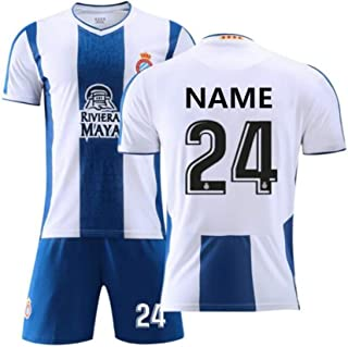 TCCgn Customize School Soccer Jersey Uniforms, Custom Numbers and Names to Personalize Your own Team Men's Soccer Uniforms