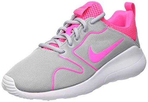 Nike Damen Wmns Kaishi 2.0 Trainingsschuhe, Grau (Wolf Grey / Pink Blast-White), 38.5 EU