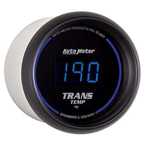 """Auto Meter 6949 Cobalt Digital Transmission Temperature Gauge, 2 1/16"""""""