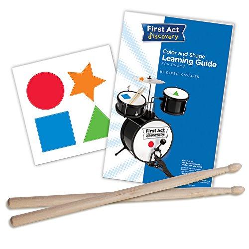 First Act Discovery Blue Swirls Stars Designer Drum Set, FD5057