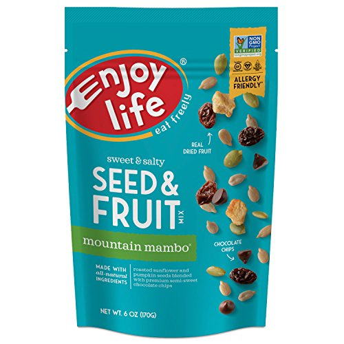 Enjoy Life Seed & Fruit Mix, Soy free, Nut free,...