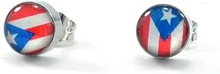 puerto rico flag earrings